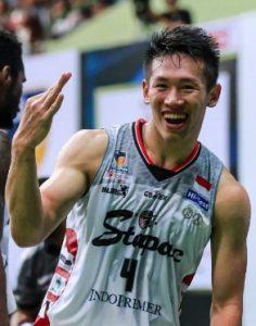 Abraham pemain muda basket indonesia